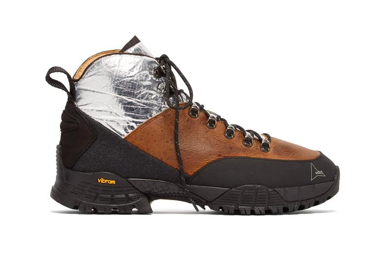ROA Applies a Shiny Detail to Vibram-Assisted Andreas Leather Boots