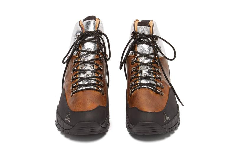 ROA Andreas Leather Boots Release Info Buy Purchase Silver Brown Black Vibram
