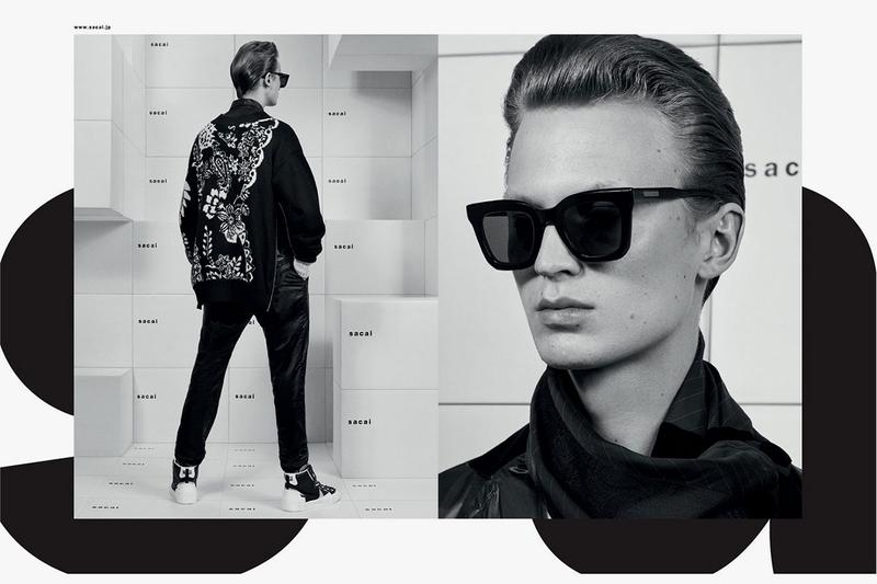 sacai x Native Sons Fall/Winter 2019 Sunglasses fw19 collaboration collection frames lenses clip on japan september august 31 2019 release date info buy colorway