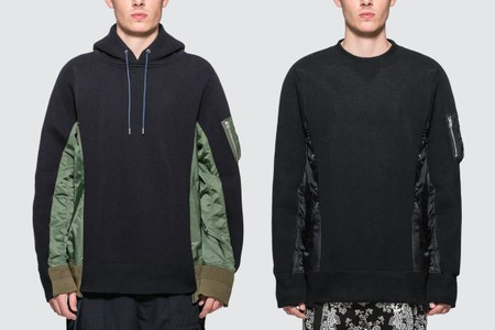 sacai Adds Comfort to a Military Staple in MA-1-Detailed Sweatshirts