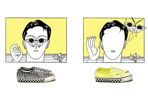 "Saint Alfred & Vans Vault Drop Limited Edition Sneaker With ""Acid"" Pattern"