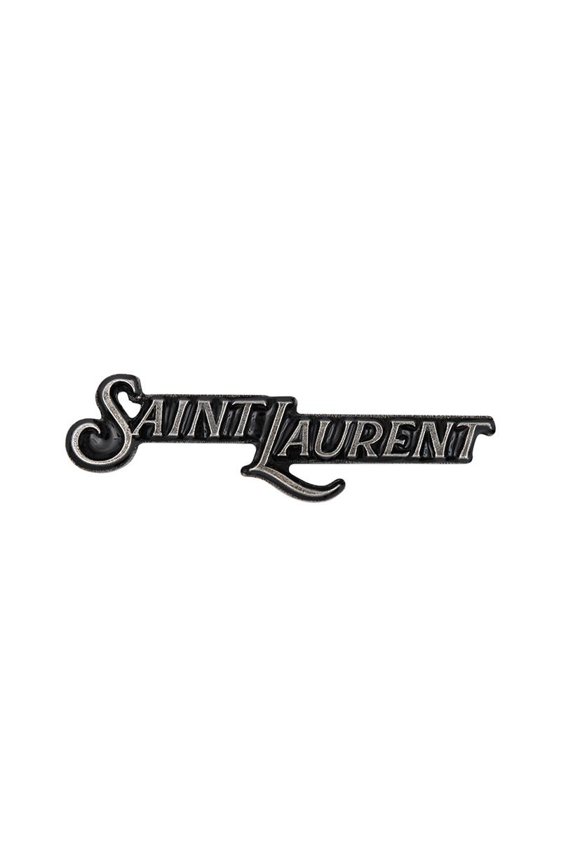 Saint Laurent Rive Droite 007 Capsule Collection Paris City T-Shirt Keyring Pin Notepad Lighter Matches Four Set Coasters Cocktail Sticks Accessories Anthony Vaccarello
