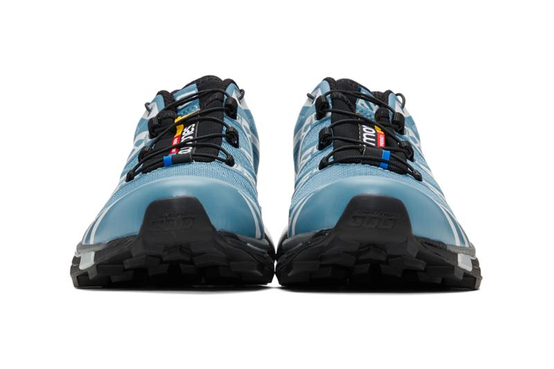 Salomon Limited Edition S LAB XT 6 Softground LT ADV Beige Blue Grey ACS Chassis technology Contragrip Chevron Rubber outsole foam sneaker footwear french performance