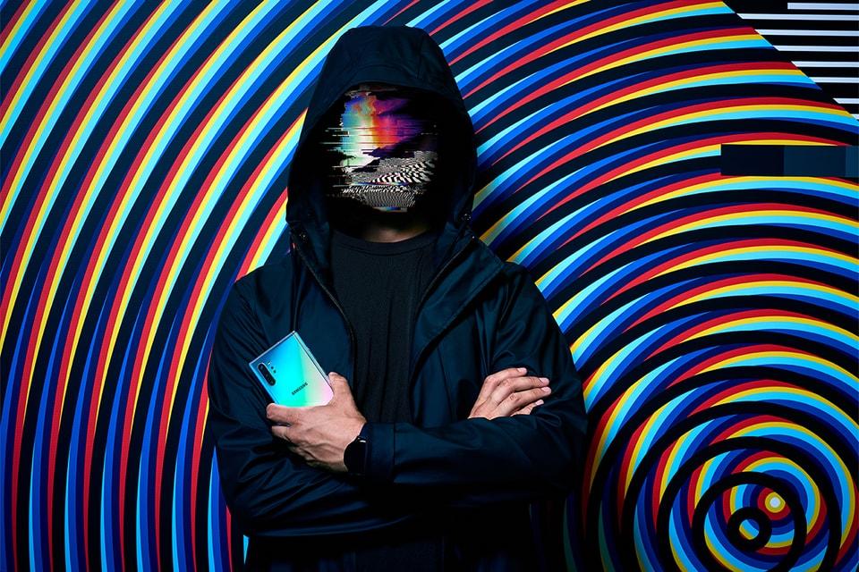 Felipe Pantone Creates On The Samsung Galaxy Note10 Hypebeast