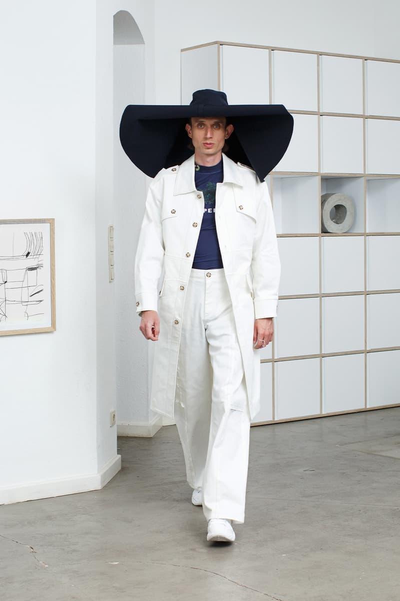 SCHEPPERHEYN Spring/Summer 2020 Lookbook Shirts Pants Shorts Long sleeves Food Purple Onion Navy Blue Black White