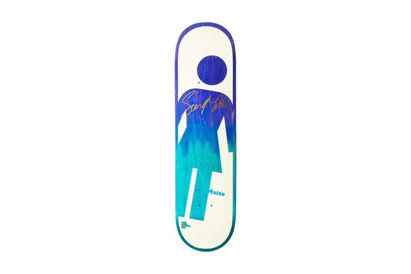 Sean Malto aPROciation Day signed skateboard autograph sign the berrics canteen girl skateboards skateboarding