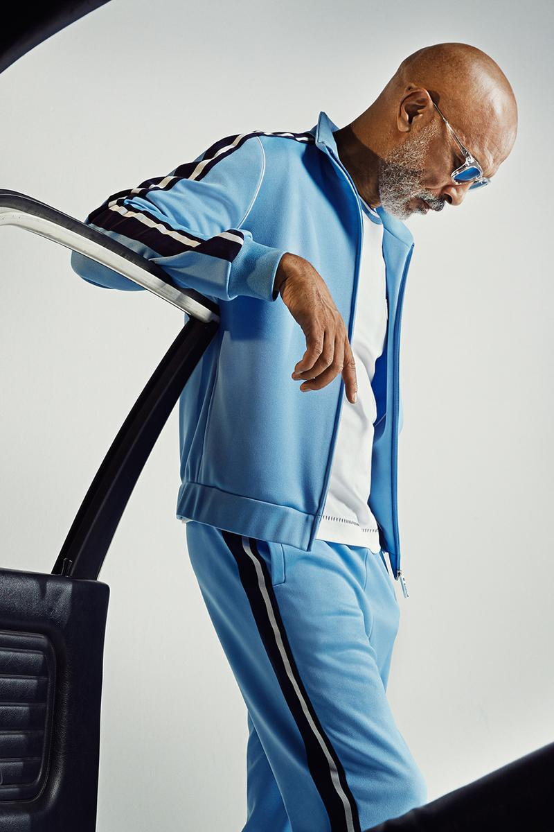Sergio Tacchini Spring/Summer 2020 Lookbook Ttrack suits Lightweight jackets Tennis Shirts Shorts White Navy Blue Turquoise Green