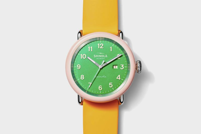 Shinola Detrola Watch Collection Release Info watches timepiece detroit runwell resin
