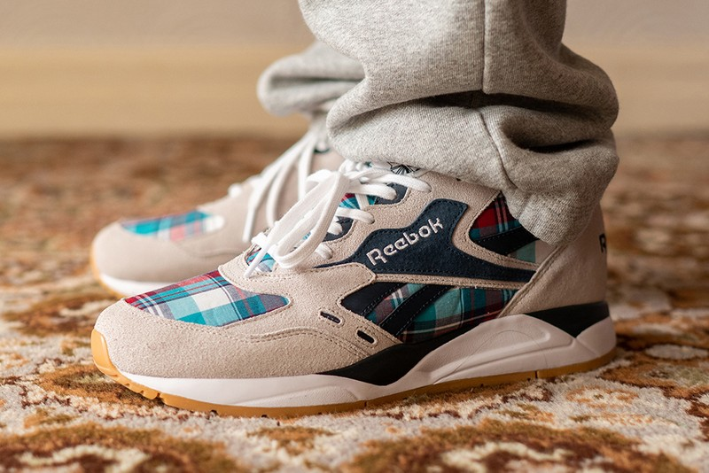 size? 'Ree-Cuts' Reebok's Classic Bolton Sneaker With Plaid Panels