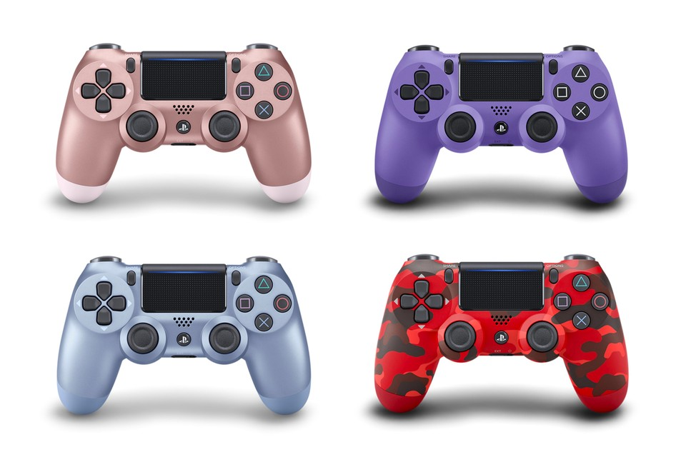 Sony Four New Dualshock 4 Controller Colors Release | HYPEBEAST