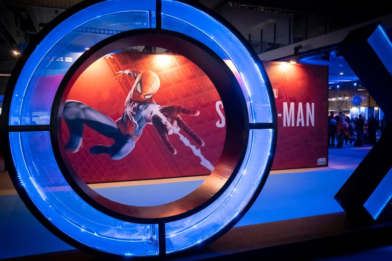 Sony PlayStation 4 Acquire Spider Man Developer Insomniac Games gaming video games console marvel