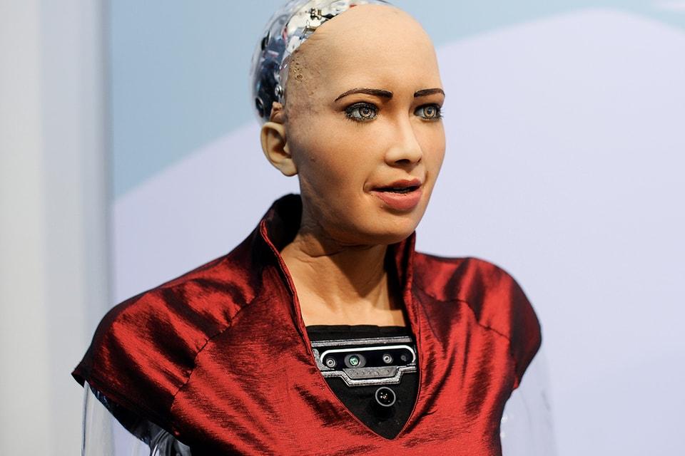 Sophia the Robot Is Starring in Her Own 'Westworld'-Inspired Short Film