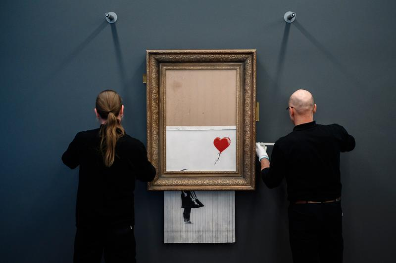 Sotheby's & Christie's Face off in Banksy Print Sales This Fall