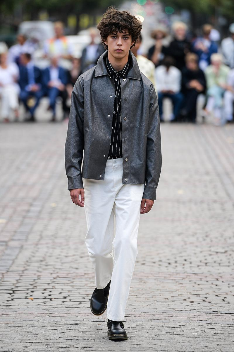"Soulland Spring/Summer 2020 SS20 Copenhagen Fashion Week Runway Presentation Menswear Womenswear Full Showcase Nike SB Blazer Mid Snakeskin Print Dunk High Pro ""FRI.day Part 0.2"""