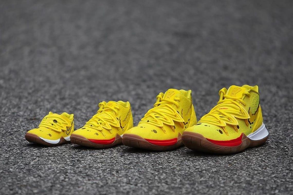 Nike Kyrie 5 x SpongeBob Pineapple House Rising Care
