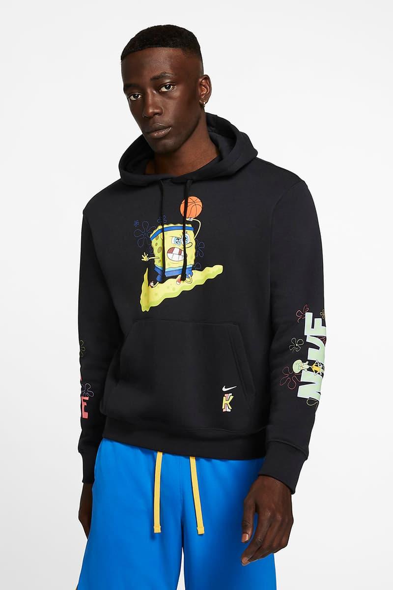 newest 3c743 7abca Spongebob Squarepants' x Nike Kyrie Clothing | HYPEBEAST