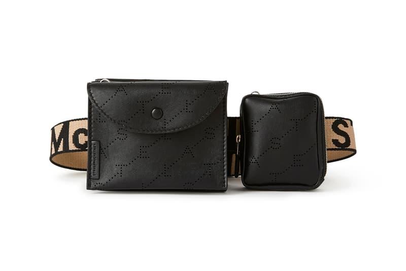 stella mccartney monogram belt bags canvas leather bag release 2019