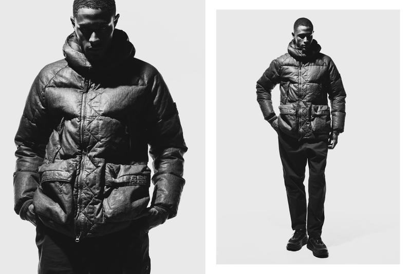 HAVEN Stone Island Fall/Winter 2019 Editorial Shadow Project outerwear technical apparel italy sportswear casual menswear streetwear jackets mid-layers sweatshirts t-shirts bombers