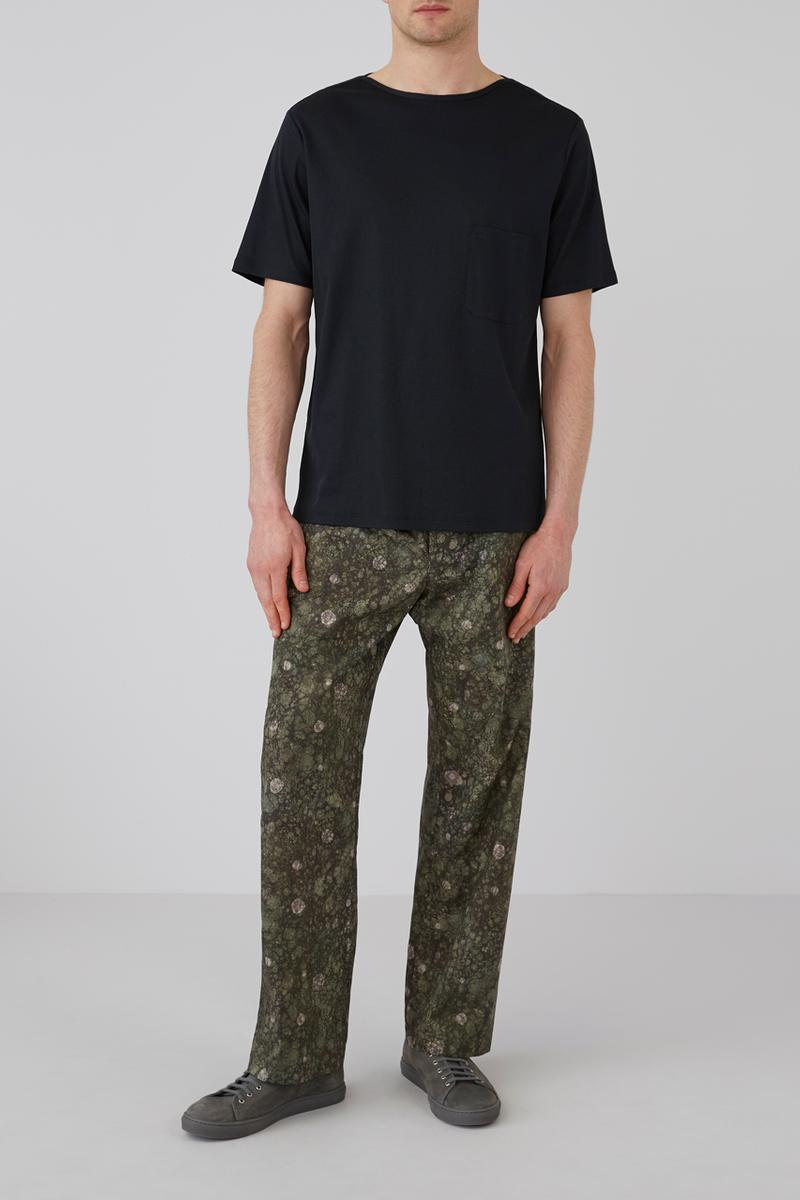 Sunspel Lemaire Fall/Winter 2019 Collection Pajamas Tops Bottoms Turtlenecks Tees Black Pink Green Marble Red