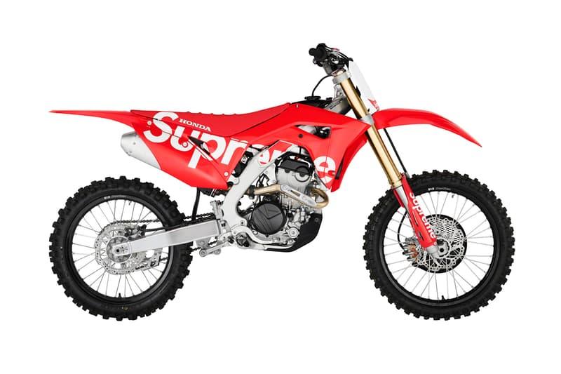 Supreme Fall/Winter 2019 Accessories Honda CRF Dirt Bike Red