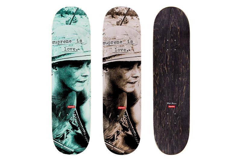 Supreme Fall/Winter 2019 Accessories Skate Deck Supreme Is Love The Smiths Morrissey