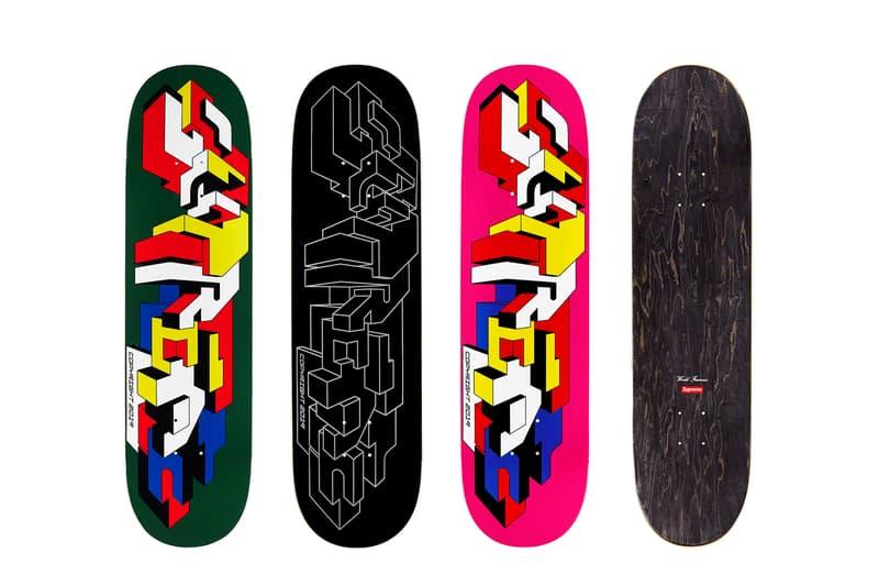 Supreme Fall/Winter 2019 Accessories Skate Decks Delta Graffiti