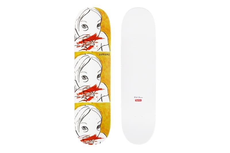 Supreme Fall/Winter 2019 Accessories Skate Decks AOI Japanese Art Sketch