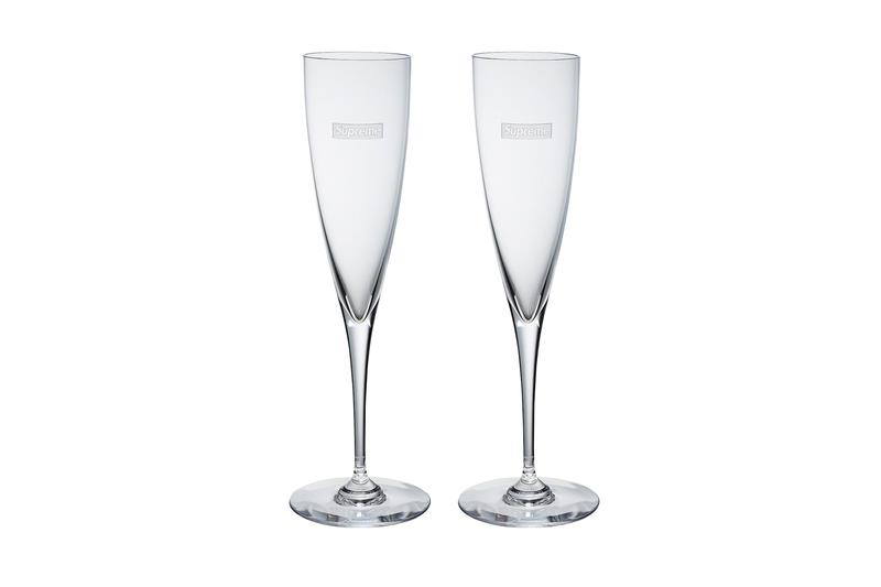 Supreme Fall/Winter 2019 Accessories Champagne Glasses