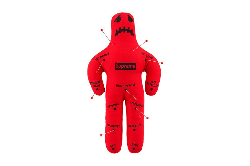 Supreme Fall/Winter 2019 Accessories Voodoo Dolls Red