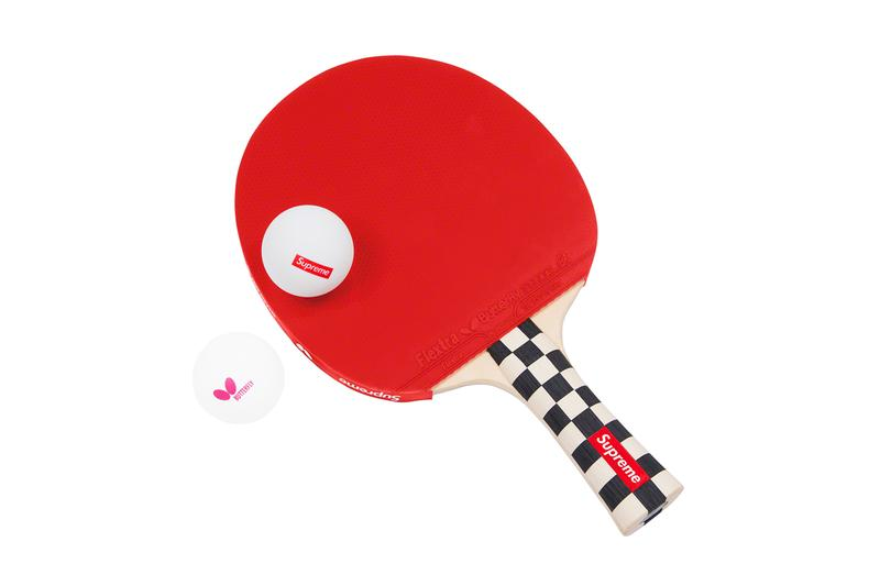 Supreme Fall/Winter 2019 Accessories Ping Pong Paddles Butterfly