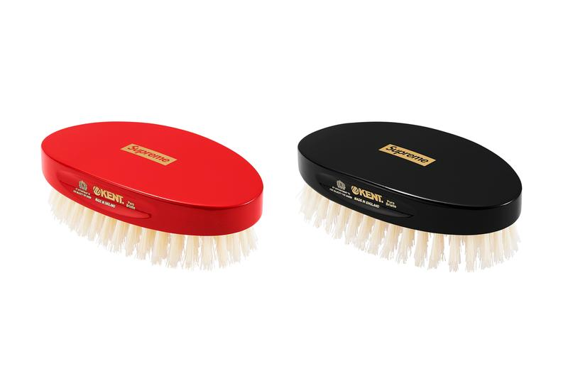 Supreme Fall/Winter 2019 Accessories Red Black Hair Brush