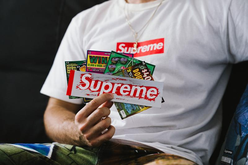 Supreme Fall/Winter 2019 Collection First Drop collection release date info buy tee shirt mary j blige collaboration scratch off box logo bogo sticker