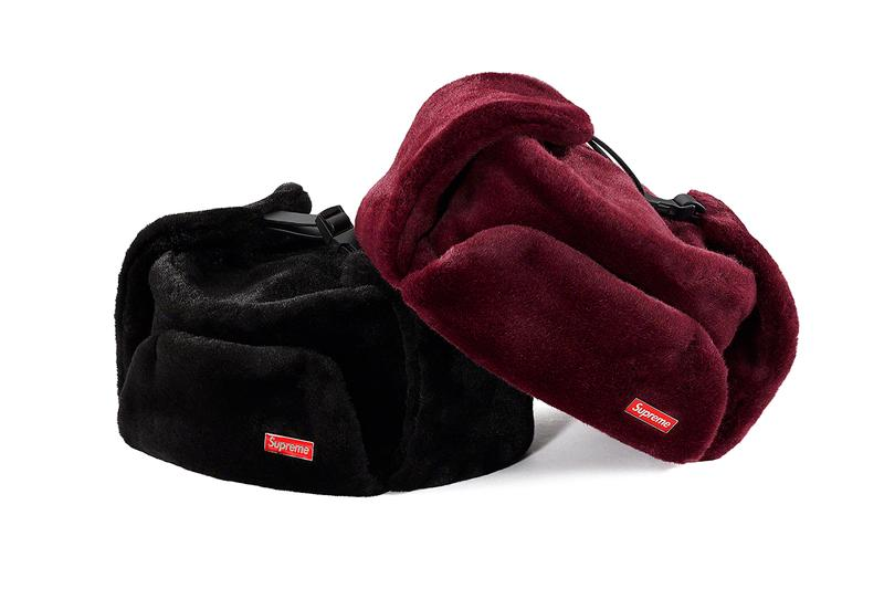 Supreme Fall/Winter 2019 Hats, Caps and Beanies Camo Red yarn Stripes Dots Cuffed