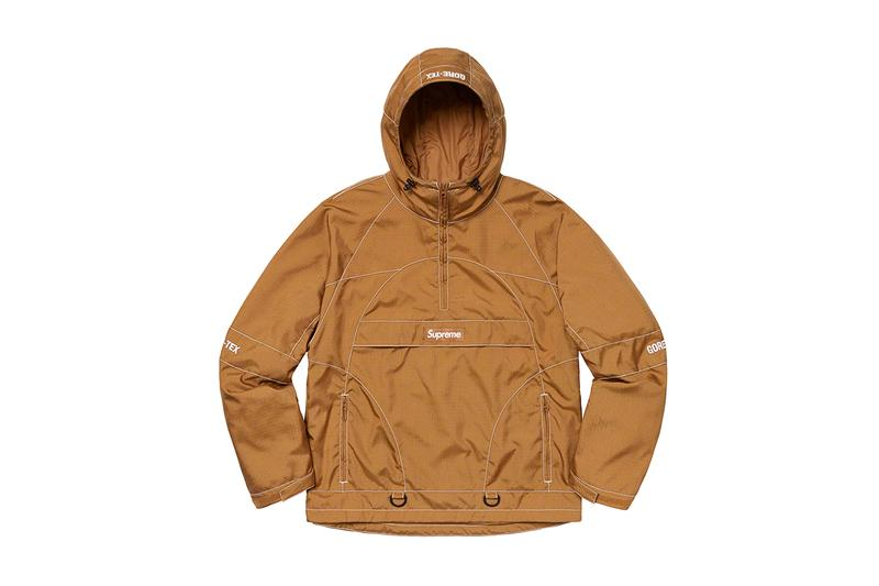 Supreme Fall/Winter 2019 Jackets Outerwear Leather Schott Riders GORE-TEX Camo hindu indian native american