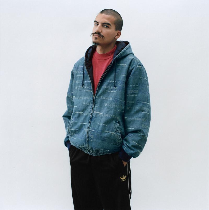 Supreme Fall Winter 2019 Lookbook Jackets Tees Hoodies Pants Sweats Box Logo Camo GORE TEX