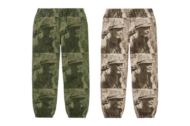 Supreme Fall/Winter 2019 Pants Camo GORE-TEX Shorts Sweatpants Jeans Chinos Purple