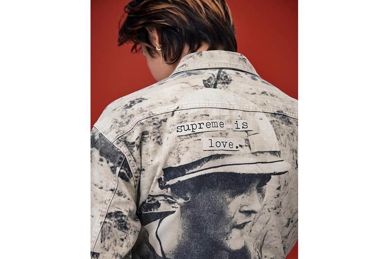 Supreme Fall/Winter 2019 Teaser The Smiths Morrissey Meat is Murder Release Date Denim Jacket Levi's