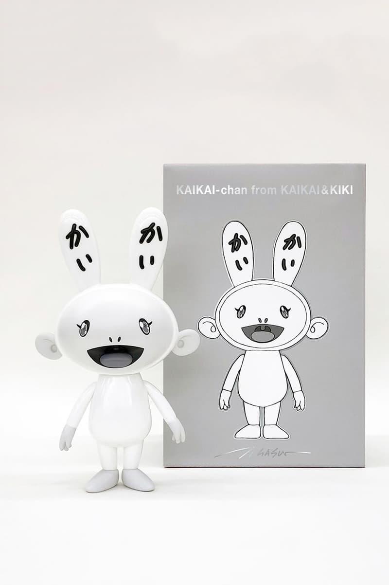 takashi murakami black white kaikai kiki vinyl figures artworks collectibles editions sculptures statues