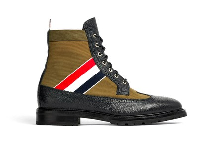 Thom Browne's RWB Longwing Boots Are a Sartorial Footwear Staple