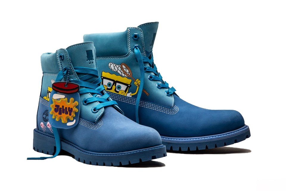 The SpongeBob x Timberland Collaboration Will See a Wider Release Next Month