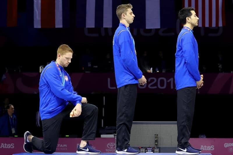 US Tokyo 2020 Olympians Warned Not To Protest pan am games tokyo summer olympics japan kneeling Gwen Berry Race Imboden