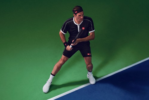 UNIQLO Unveils Game Wear Collection Inspired by Roger Federer's On-Court Kit