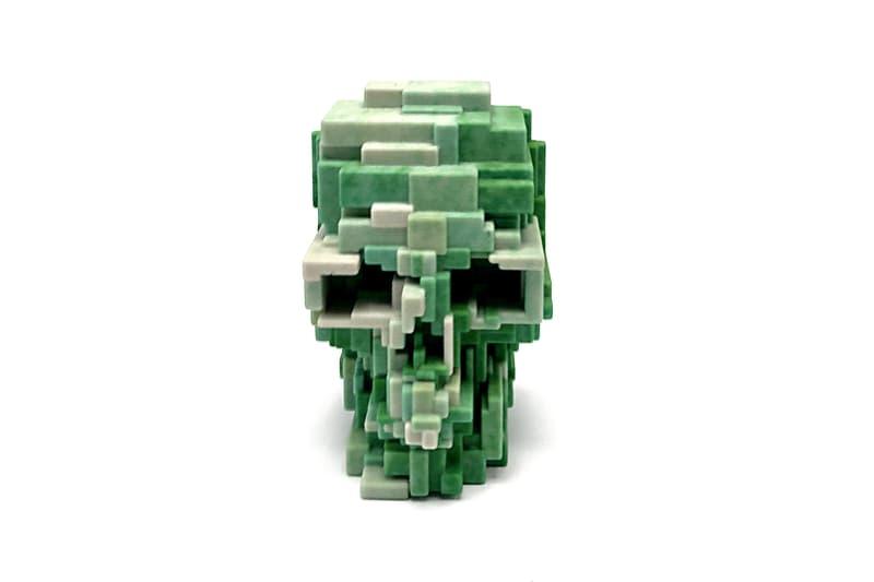Unique Board Adam Lister Second Edition 3D-Printed Skulls Pink Yellow Green Black