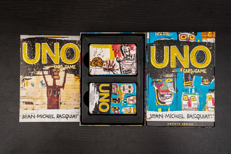 UNO Kickstarts Its Artiste Series With a Jean-Michel Basquiat Tribute Pack