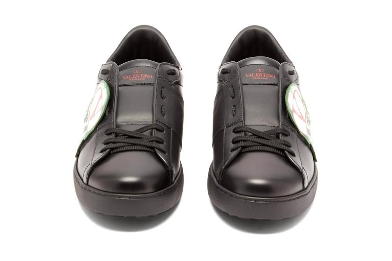Valentino x Undercover Skull-Appliqué & Climbers Sneakers release info matchesfashion.com buy now purchase footwear shoes trainers leather mesh pierpaolo Piccioli jun takahashi