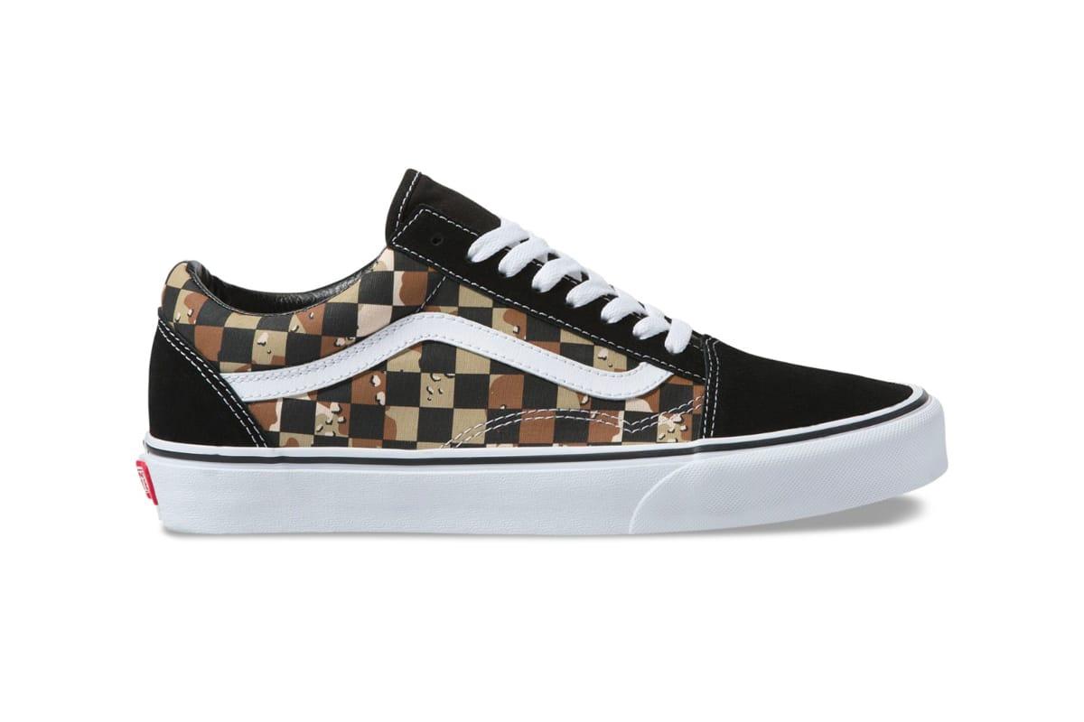 Vans Checkerboard Desert Camo Pack