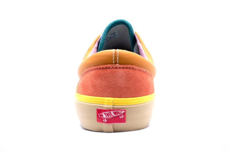 Vans Era LX Rose Orange White Blue sneakers footwear shoes suede panel colorblock multicolor pastel pink yellow blue orange brown pink summer