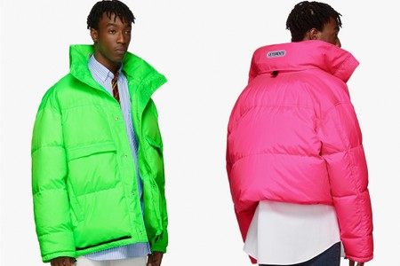 Vetements Readies You for Winter With $2150 USD Neon Puffer Jackets