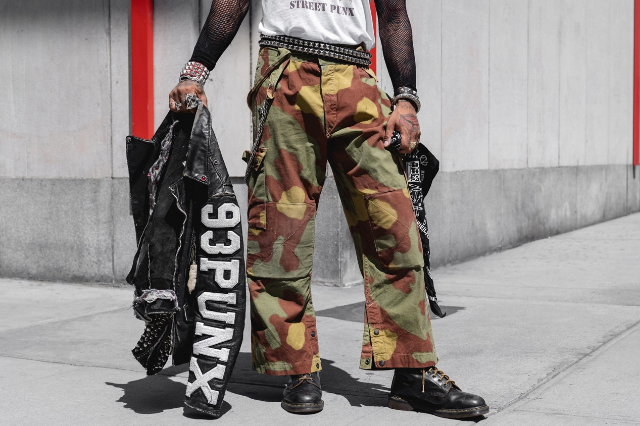 Vic Mensa Streetsnaps Style Interview Feature 93punx album stream punk influence fashion style brand clothing