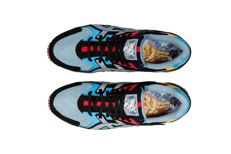 Vivienne Westwood x ASICS Second Sneaker Collaboration collection hyper gel saga lyte ds trainer og François Boucher